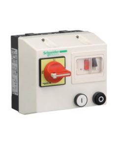 ARRANCADOR DIRECTO MOTOR 1,1 KW 220V AC MONOFASICO IP55 100259 SCHNEIDER ELECTRIC