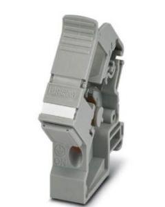 PC ADAPTADOR P/MODULO FIBRA O RJ45 A/RIEL/DIN GR 104174094 TERMINALES
