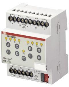 MODULO ENT BINARIAS KNX 8 SEÑALES 10 - 230V AC/DC BE/S 8.230.2.1 11009385 ABB