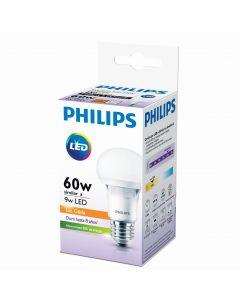AMPOLLETA LED BULBO PHILIPS ESSENTIAL 9W E27 3.000K A60 113607 PHILIPS