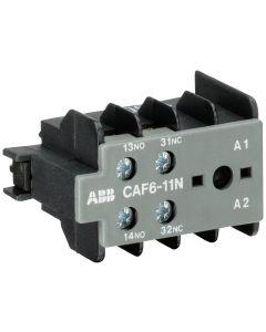 CONTACTO AUX 1NA+1NC P/CONTAC AF6 120133085 ABB