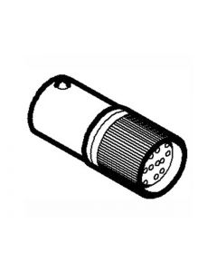 AMP LED,  BA9s, 24Vca/cc, VERDE 12024372 LOVATO
