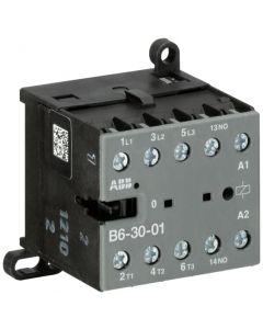 MINI CONTACTOR 4KW AC3 240VAC 1NC B6-30-10-01 1211008085 ABB