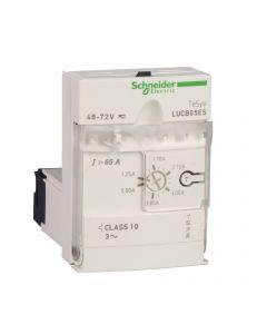 UNIDAD DE CONTROL AVANZADO CLASE  10 - 0.35-1.4A - 220V AC/DC - TESYS U 12310059 SCHNEIDER ELECTRIC