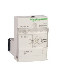 UNIDAD DE CONTROL AVANZADO CLASE  10 - 1.25-5A - 220V AC/DC - TESYS U 12310259 SCHNEIDER ELECTRIC