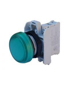 PILOTO ARMADO LED VERDE 85 A 140VCA/CC, SERIE PLASTICA 12718072 LOVATO