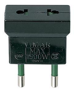ADAPTADOR S10 - USA+EU NEGRO 13525376 VIMAR