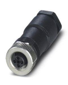PC CONECTOR M12 HBRA VOL RECT 4P TIPO/T TOR NE/MET 140464494 PHOENIX CONTACT