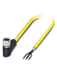 PC CONECTOR M8 HBRA 3P ACODADO CABLE/PVC/2MT APANT 140606694 PHOENIX CONTACT