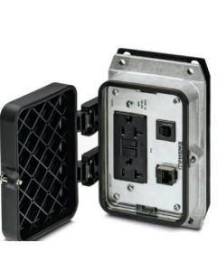 PC CONECTOR COMBINADO EMB B48 1xRJ45/HBRA 1x120VAC 141576194 PHOENIX CONTACT