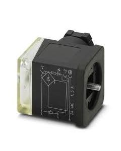 PC CONECTOR E/VALV TIPO/A 3P 230VACC C/LED/VAR/RECT 145219494 PHOENIX CONTACT