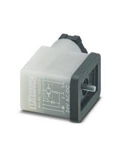 PC CONECTOR E/VALV TIPO/BI 3P 24VACC C/LED/VAR M16 145223394 PHOENIX CONTACT