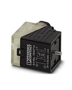 PC CONECTOR E/VALV TIPO/A 3P 24VACC C/LED/DIODO Z M16 154471494 PHOENIX CONTACT