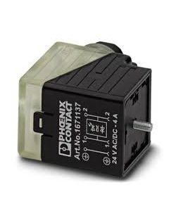 PC CONECTOR E/VALV TIPO/A 3P 24VACC C/LED/DIODO Z PG9 167113794 PHOENIX CONTACT