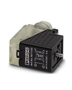 PC CONECTOR E/VALV TIPO/B 3P 24VACC C/LED/DIODO Z PG9 167115394 PHOENIX CONTACT