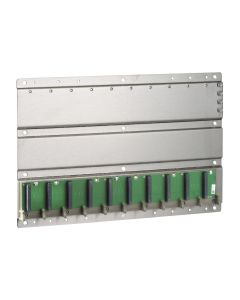 RACK PLC MOD QTM 10/SLOT 428x290mm 178610559 SCHNEIDER ELECTRIC