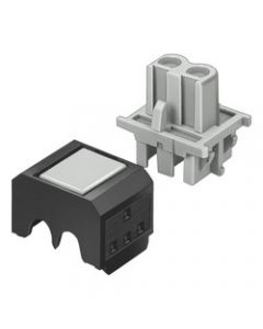 CONECTOR UNION AS-I P 2X0,5/0,75MM2 EXT AMA 198500661 SIEMENS