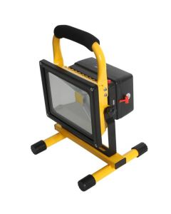 PROYECTOR LED PORTATIL RECARGABLE 20W IP44 CON CARGADOR Y SALIDA USB 208605025 DARLUX