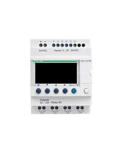 ZELIO 6E/4S RELE S/RELOJ 240VAC C/PANT 208805059 SCHNEIDER ELECTRIC