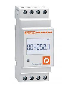 MEDIDOR DE ENERGIA DIGITAL (REMARCADOR) MONOFASICO, 63A, LOVATO DMED130 208860172 LOVATO