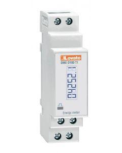 MEDIDOR DE ENERGIA DIGITAL (REMARCADOR) MONOFASICO, SALIDA IMPULSOS, 40A, LOVATO DMED100T1 208860472 LOVATO