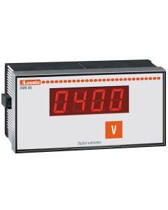 AMPERIMETRO DIGITAL MONOFASICO EMPOTRABLE 96x48mm, CON RELE DE SALIDA, LOVATO DMK01R1 208924772 LOVATO