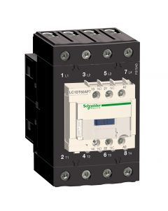 CONTACTOR 4P 60A 4NA 24VDC AC-1 228123659 SCHNEIDER ELECTRIC