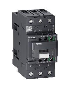 CONTACTOR  40A 48-130 VAC/DC 1NA +1NC 228127959 SCHNEIDER ELECTRIC