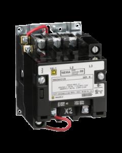 CONTACTOR 600 VAC 9AMP NEMA-0 110 VAC 228210159 SCHNEIDER ELECTRIC