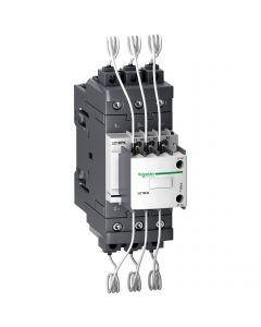 CONTACTOR PARA BANCO DE CONDENSADOR 3 POLOS - 30KVAR - 220V AC - NANC 229220859 SCHNEIDER ELECTRIC