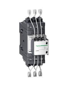 CONTACTOR PARA BANCO DE CONDENSADOR 3 POLOS - 40KVAR - 220V AC - NANC 229221059 SCHNEIDER ELECTRIC