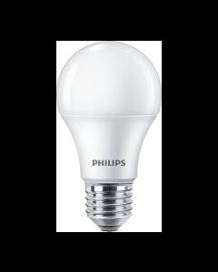 AMPOLLETA LED BULBO PHILIPS ECOHOME 10W E27 3.000K A60 229526007 PHILIPS