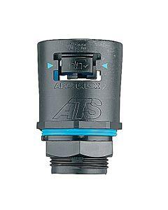 CONECTOR RECTO M25 P/FLEX 28mm NEGRO TIPO A 237433043 THOMAS & BETTS