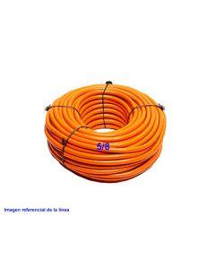 TUBO PVC ALTA DENSIDAD 20mm PROT(5/8) NARANJO X 100METROS 237915310 TIGRE