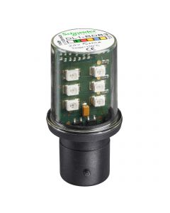 AMP LED BA 15D 24V VERDE 2458059 SCHNEIDER ELECTRIC