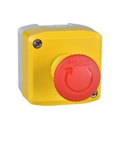 CAJA PARO EMERGENCIA 2NC+1a C/FRAUDES 2641659 SCHNEIDER ELECTRIC