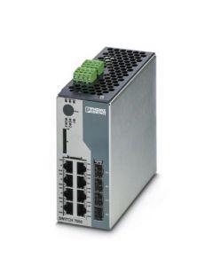 PC SWITCH GEST 4/RJ45 4/FO/DUPLEX/COMBO P/R/DIN 270155394 PHOENIX CONTACT