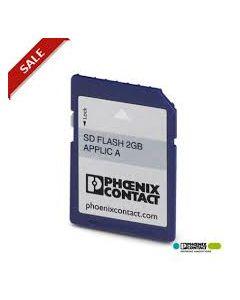 MEMORIA DE PROGRAMA Y CONFIGURACION - SD FLASH 512MB APPLIC A 270179994 PHOENIX CONTACT