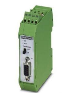 PC RESISTENCIA CIERRE PROFIBUS Y RS485/2C 24VCC DB9 P/R/DIN 270263694 PHOENIX CONTACT