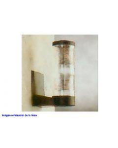 FAROL FRESNEL MURAL E27 NEGRO 4012 278375029 PLASTILITE