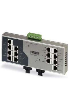 PC SWITCH NO/GEST 14/RJ45 2/FO/DUPLEX/SC-D 283259394 PHOENIX CONTACT