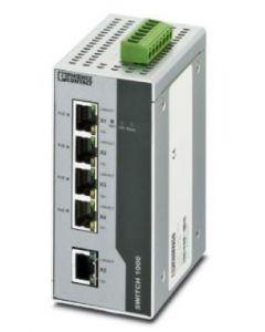 PC SWITCH NO/GEST 7/RJ45 1/FO/DUPLEX/ST-D P/R/DIN 289106494 PHOENIX CONTACT