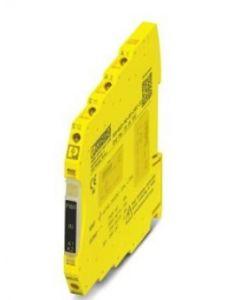 PC RELE SEGURIDAD 24VCC 1C/DISP 1S/DIG/PNP ACT/AUT 290495094 PHOENIX CONTACT