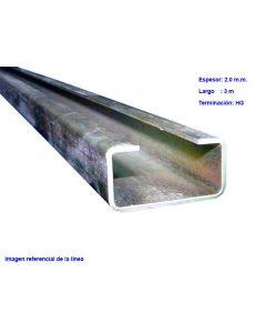 PERFIL 19x35x3000x2.0mm (HG) 337410288 MM