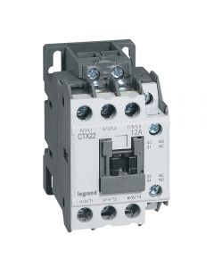 CONTACTOR CTX 3P 12A 1NA1NC  230V AC 41609604 LEGRAND