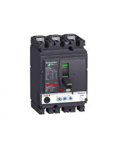 INTERRUPTOR CAJA MOLDEADA COMPACT NSX250 REGULABLE 160A 3P 25KA MICROLOGIC 2.2 43114159 SCHNEIDER