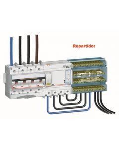 REPARTIDOR TETRAPOLAR 125A 488604 LEGRAND