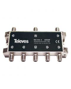 DERIVADOR 5-2400MHZ F 6D 21DB INTERIOR (A - PLANTAS 2 Y 3) 5136146 TELEVES