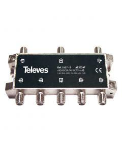 DERIVADOR 5-2400MHZ F 6D 25DB INTERIOR (B - PLANTAS 4-6) 5137146 TELEVES