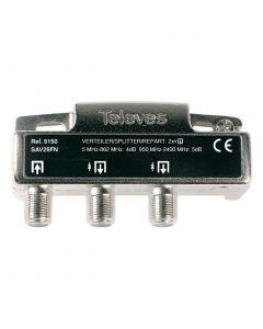 REPARTIDOR 5-2400MHZ F 2D 4/5DB INTERIOR 5150146 TELEVES